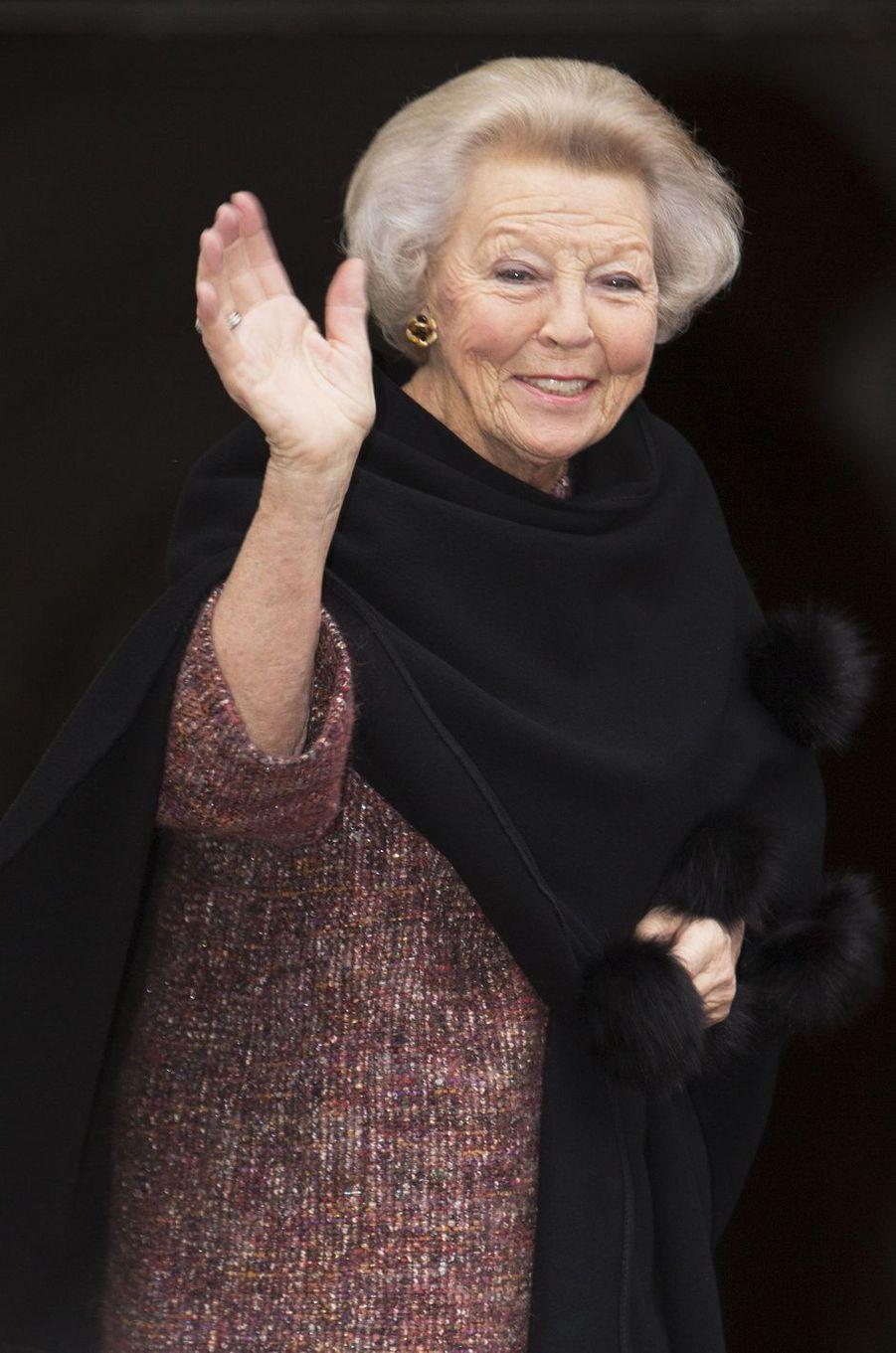 L'ex-reine Beatrix des Pays-Bas à Amsterdam, le 27 novembre 2018
