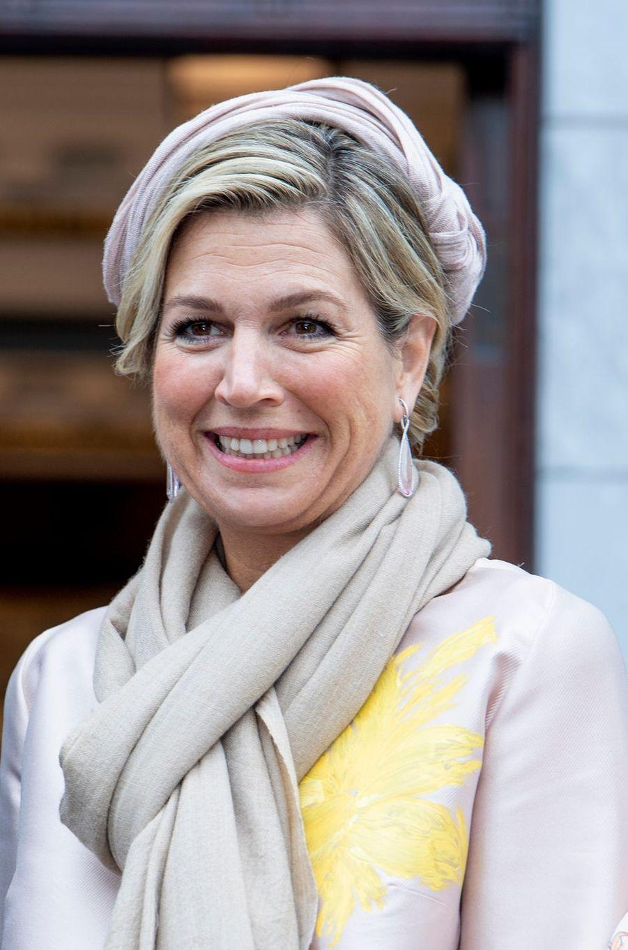 La reine Maxima des Pays-Bas à Cork en Irlande, le 14 juin 2019