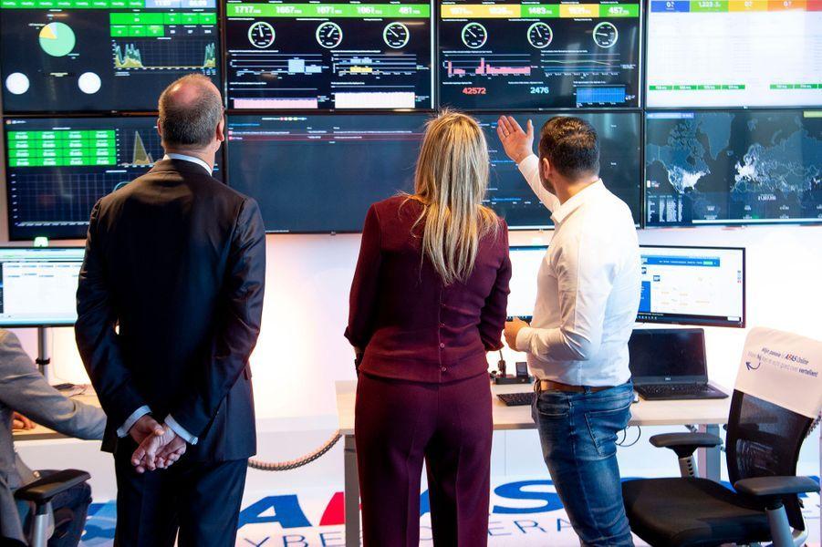 La reine Maxima des Pays-Bas en visite chez AFAS Software à Leusden, le 29 janvier 2019