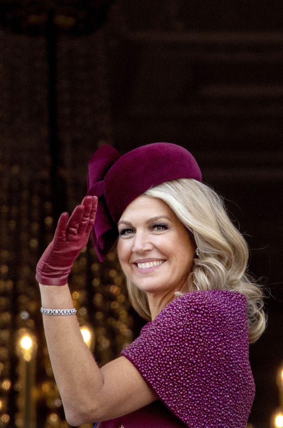 La reine Maxima des Pays-Bas à La Haye, le 17 septembre 2019