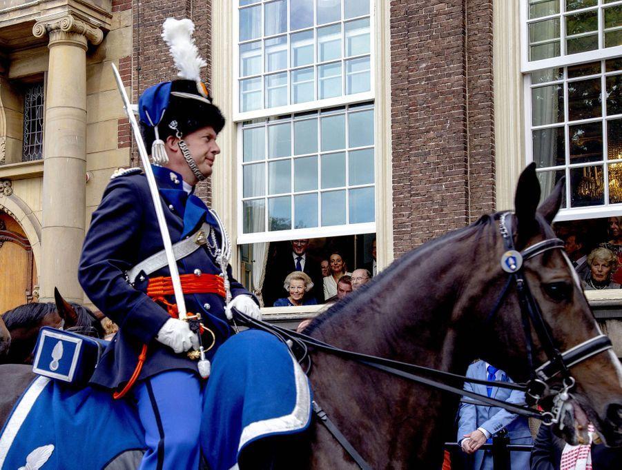 La princesse Beatrix des Pays-Bas à La Haye, le 17 septembre 2019
