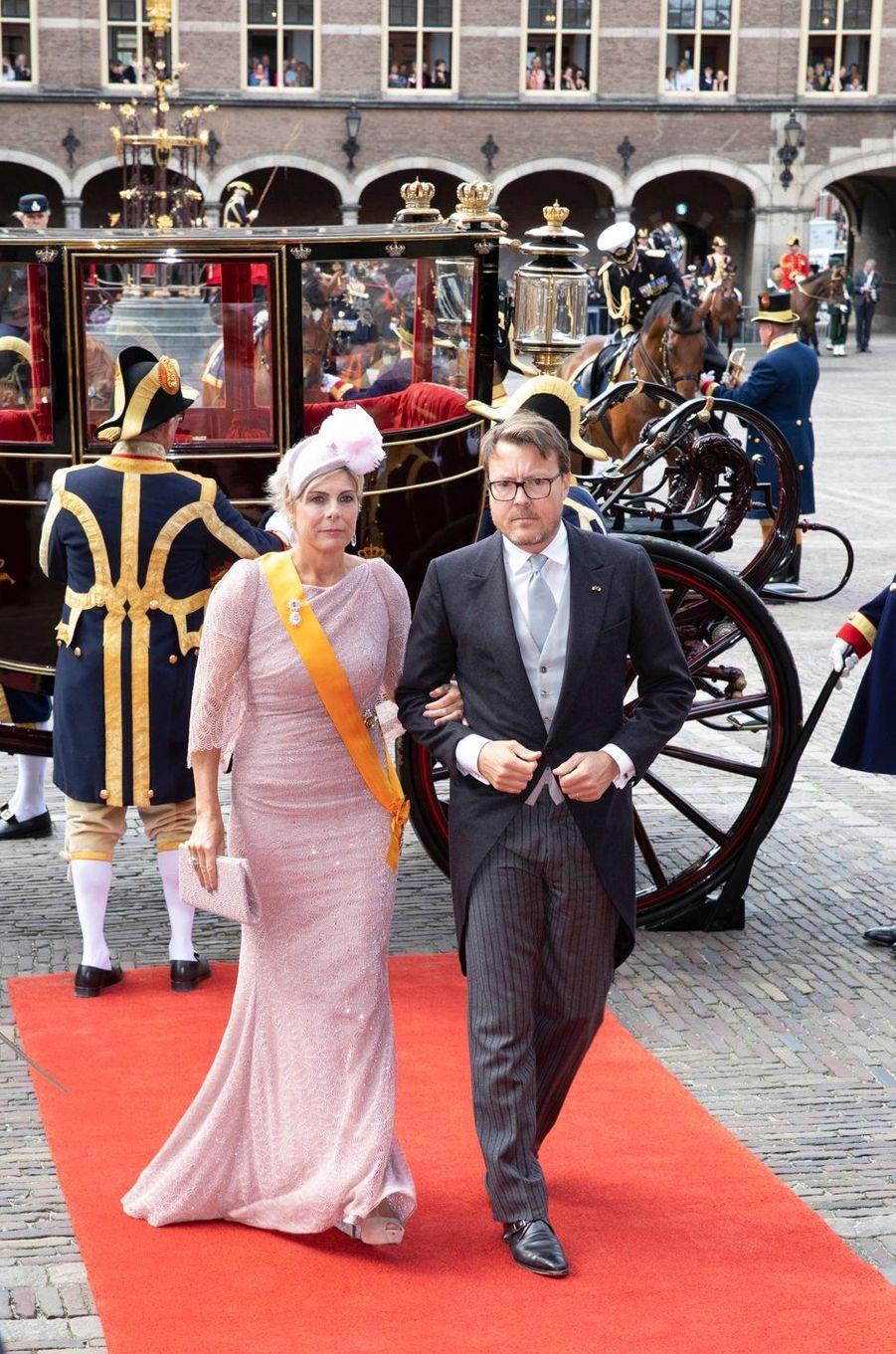La princesse Laurentien et le prince Constantijn des Pays-Bas à La Haye, le 17 septembre 2019
