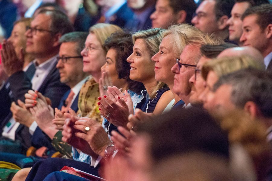 La reine Maxima des Pays-Bas à La Haye, le 4 juin 2019