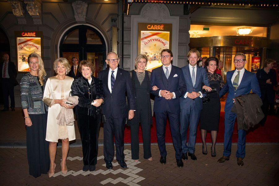 La famille royale des Pays-Bas à Amsterdam, le 26 septembre 2015