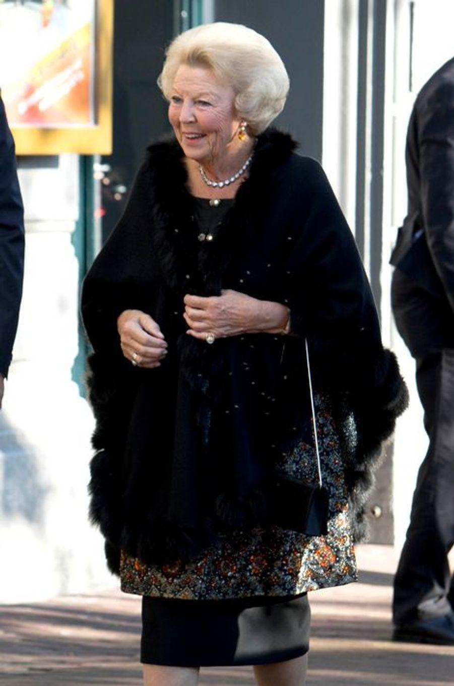 La princesse Beatrix des Pays-Bas à Amsterdam, le 26 septembre 2015
