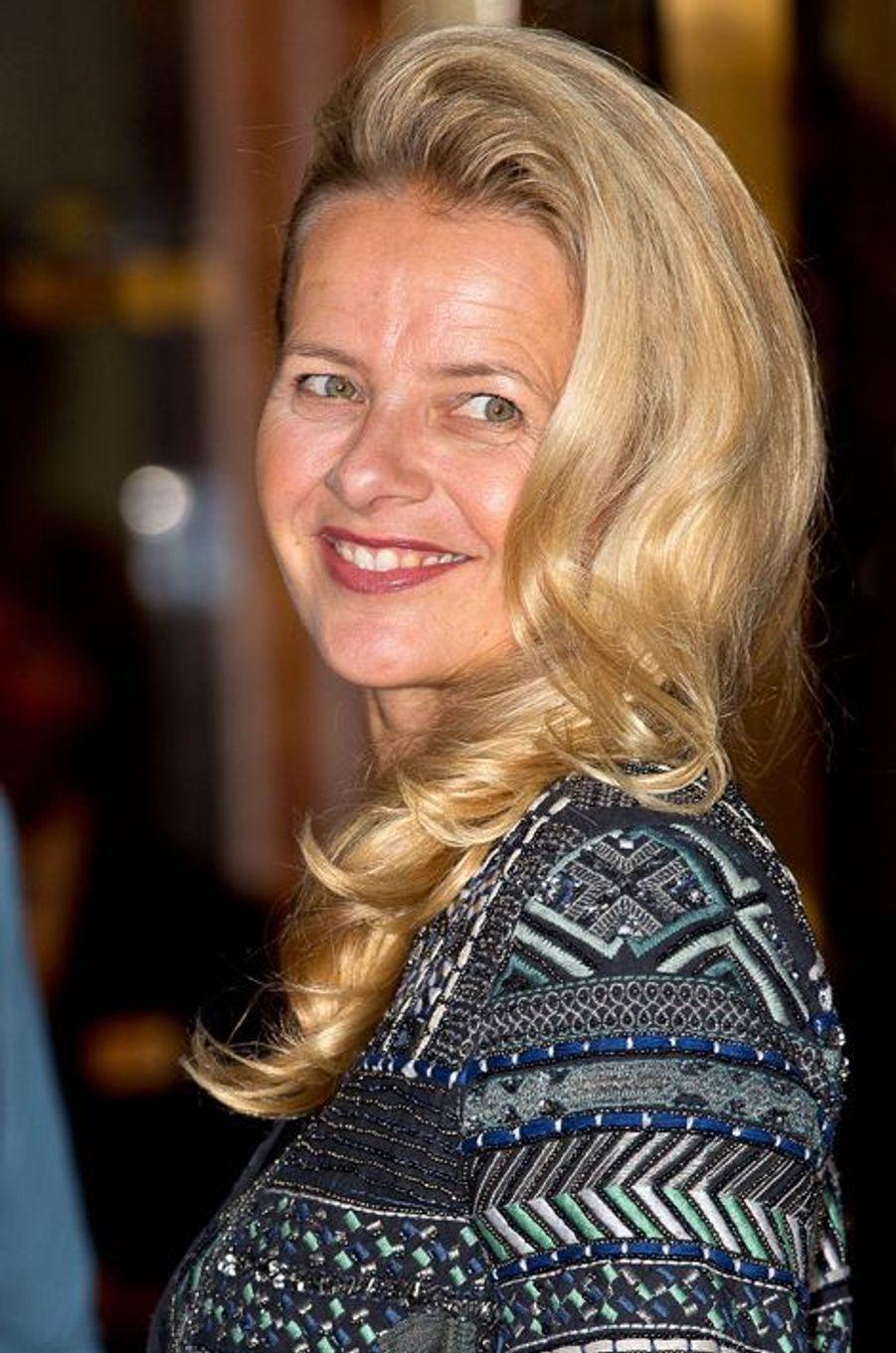 La princesse Mabel des Pays-Bas à Amsterdam, le 26 septembre 2015