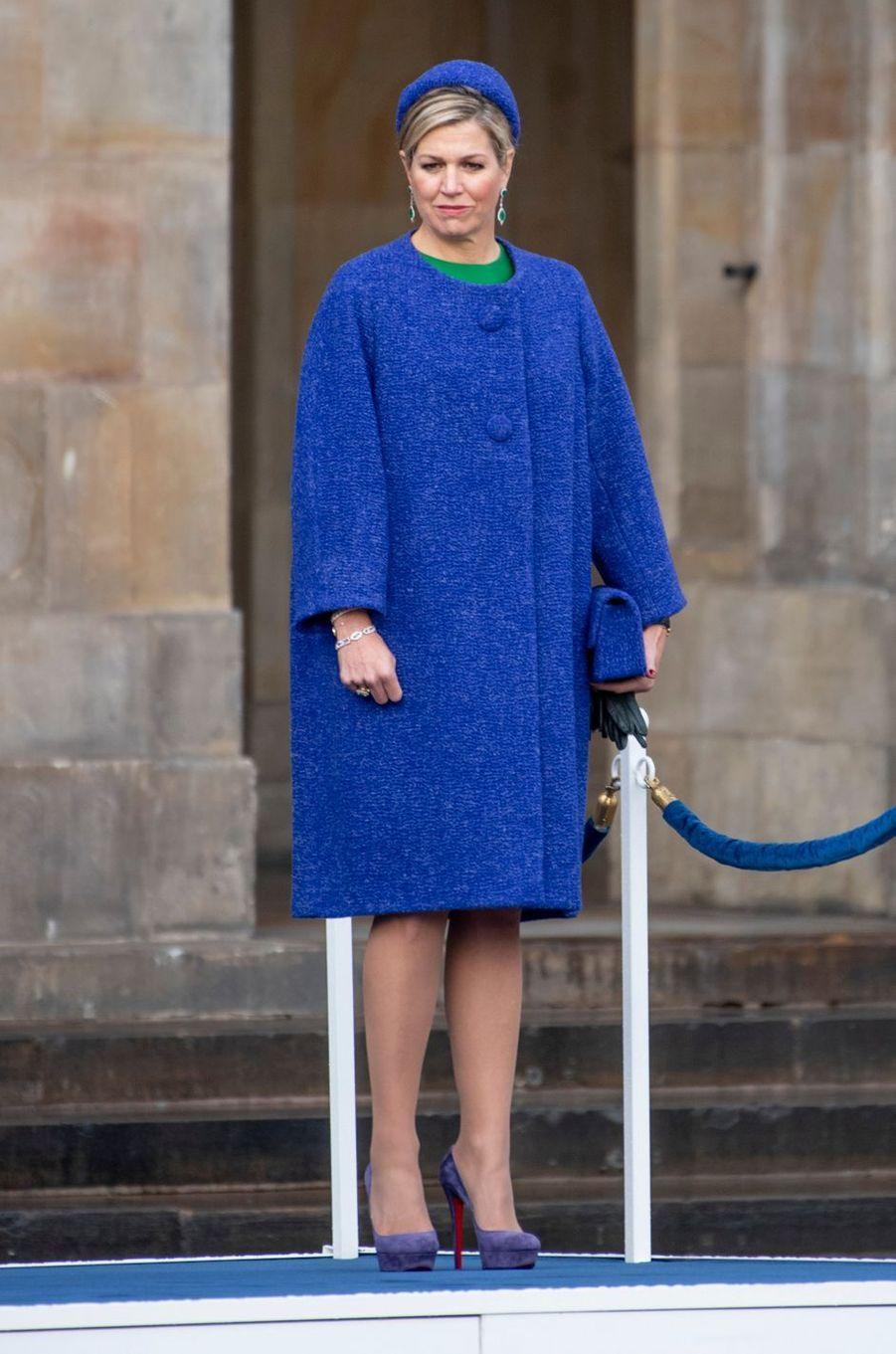 La reine Maxima des Pays-Bas à Amsterdam, le 10 décembre 2018