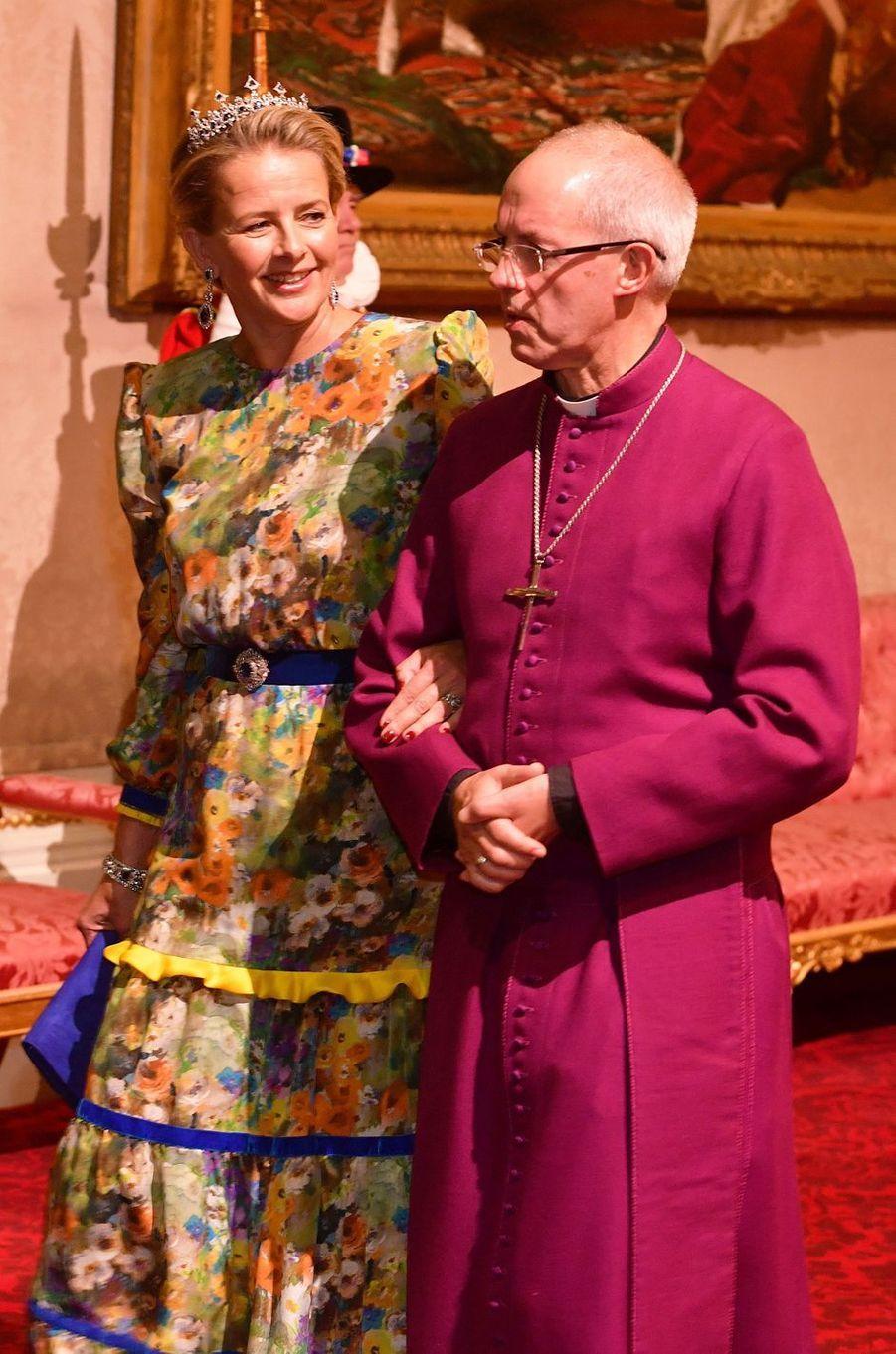 La princesse Mabel des Pays-Bas à Londres, le 23 octobre 2018
