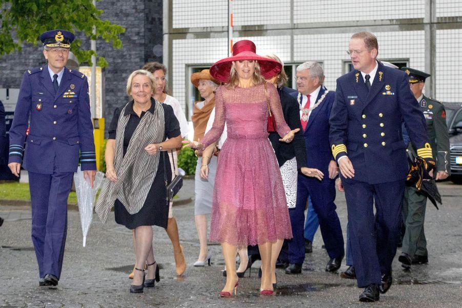 La reine Maxima des Pays-Bas à Utrecht, le 19juin 2019