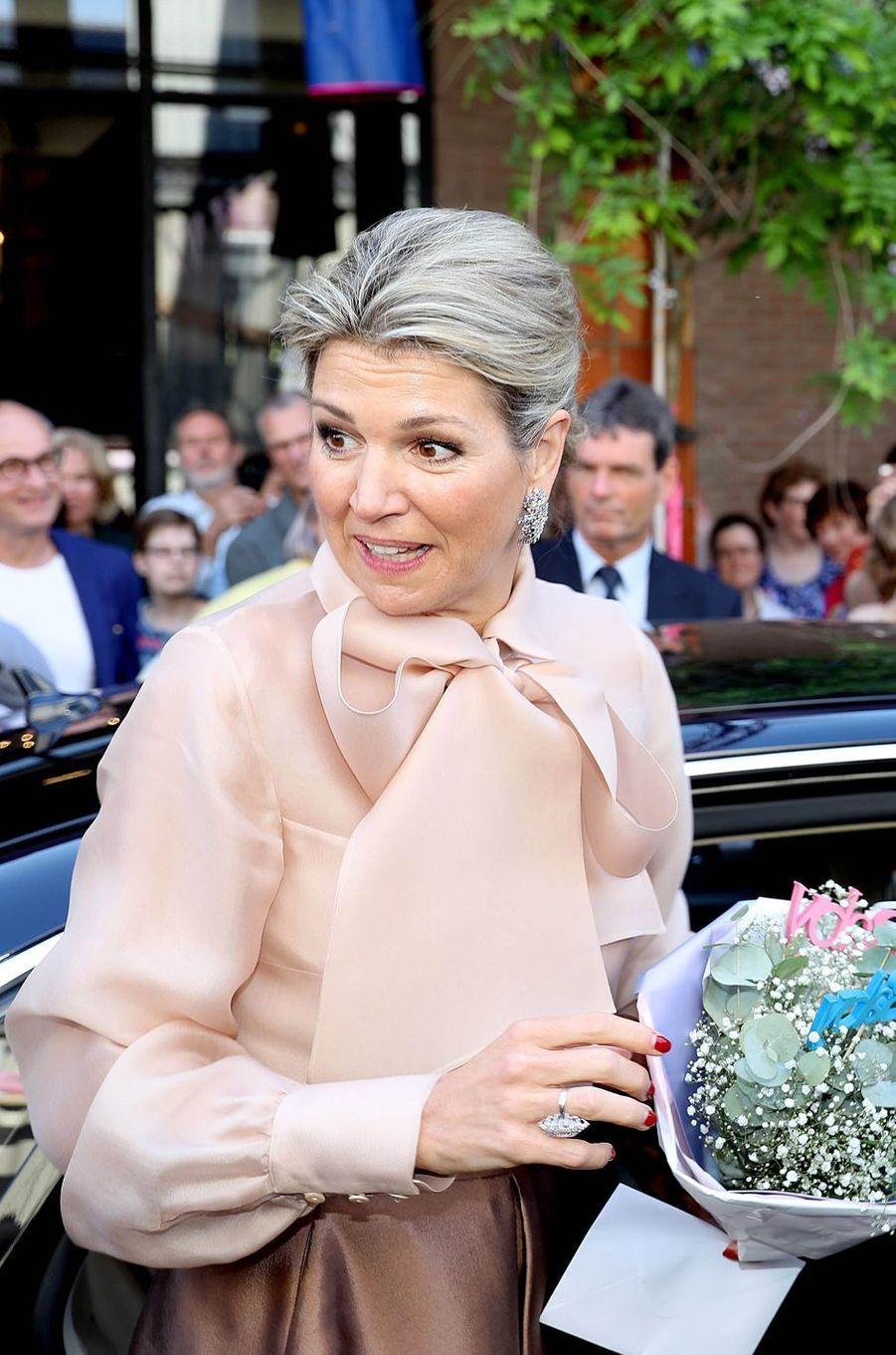 La reine Maxima des Pays-Bas à 's-Hertogenbosch, le 15 mai 2018