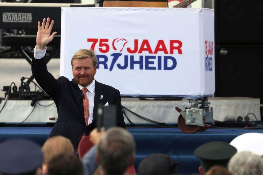 Le roi Willem-Alexander des Pays-Bas à Terneuzen, le 31 août 2019