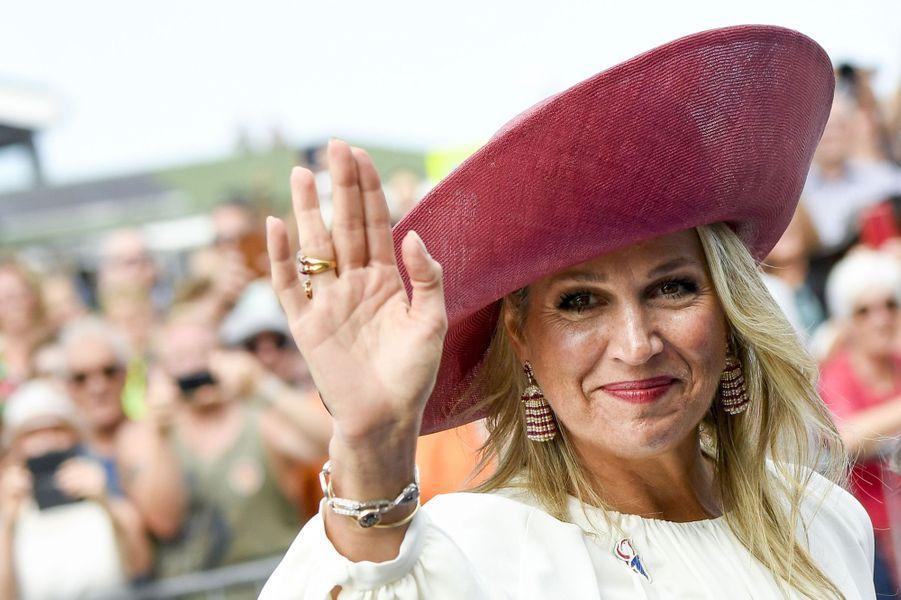 La reine Maxima des Pays-Bas à Terneuzen, le 31 août 2019