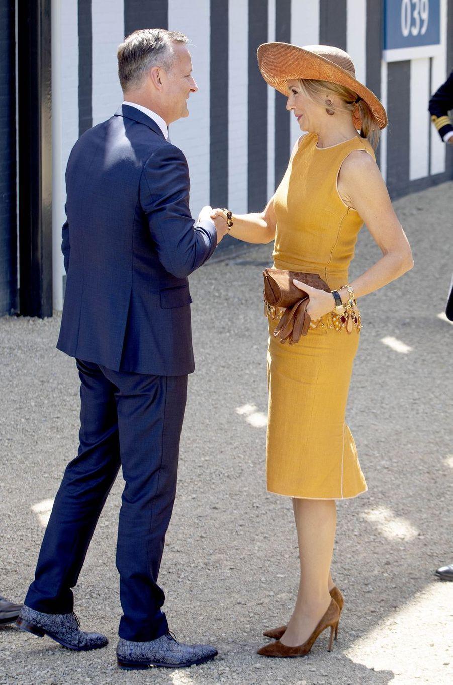 La reine Maxima des Pays-Bas à Amsterdam, le 2 juillet 2019