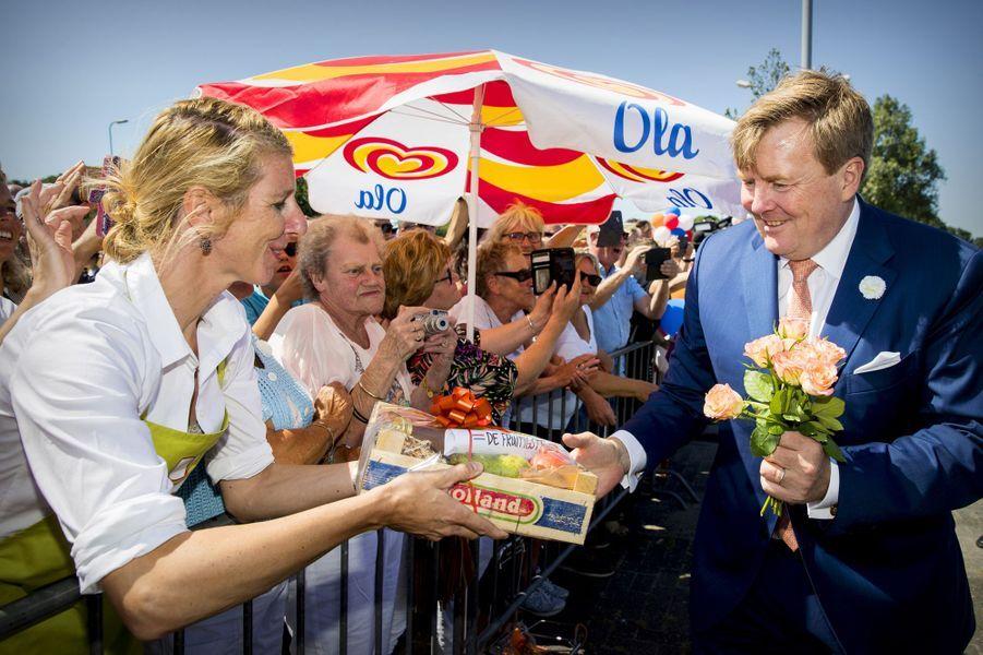 Le roi Willem-Alexander des Pays-Bas à Medemblik, le 28 juin 2018