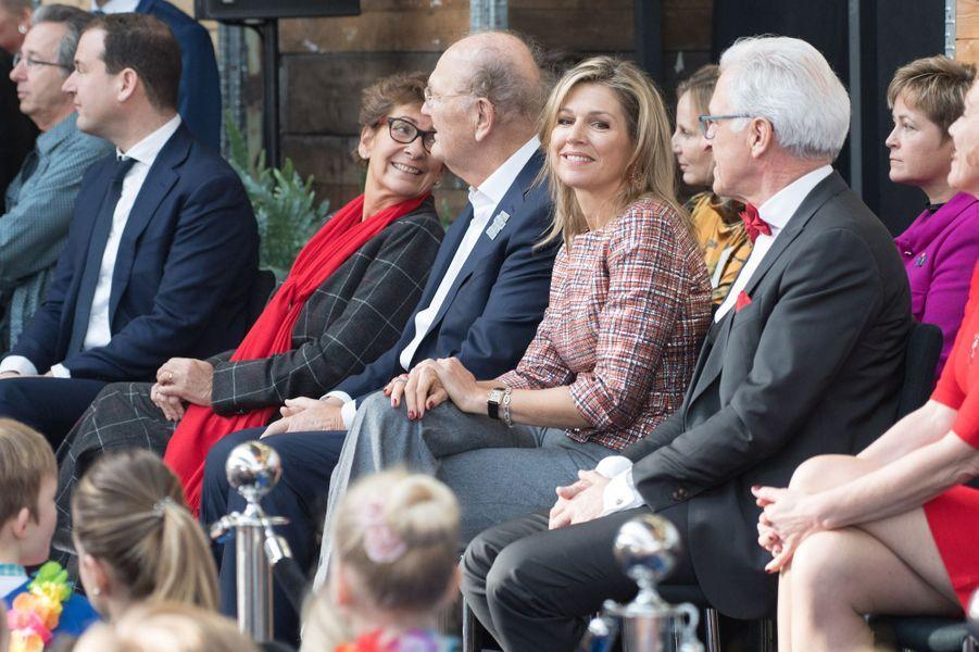 La reine Maxima des Pays-Bas à Vlissingen, le 20 février 2019