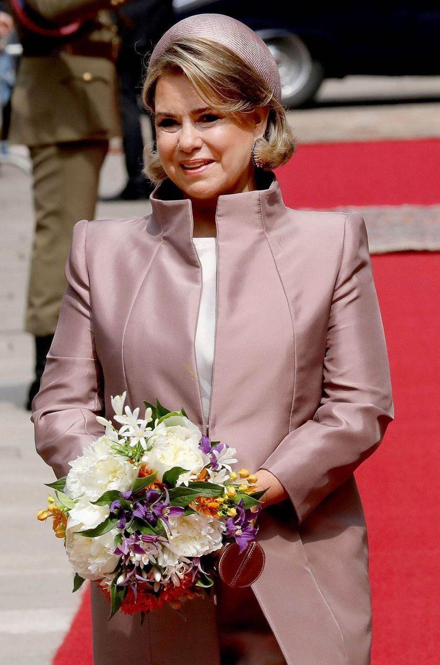 La grande-duchesse Maria Teresa de Luxembourg à Luxembourg, le 23 mai 2018