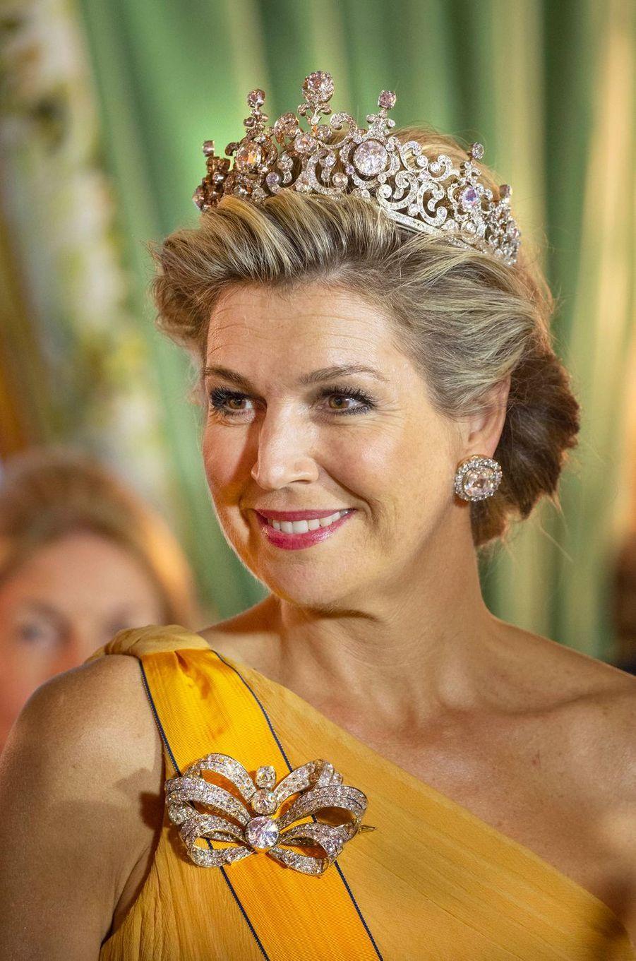 La reine Maxima des Pays-Bas à Luxembourg, le 23 mai 2018