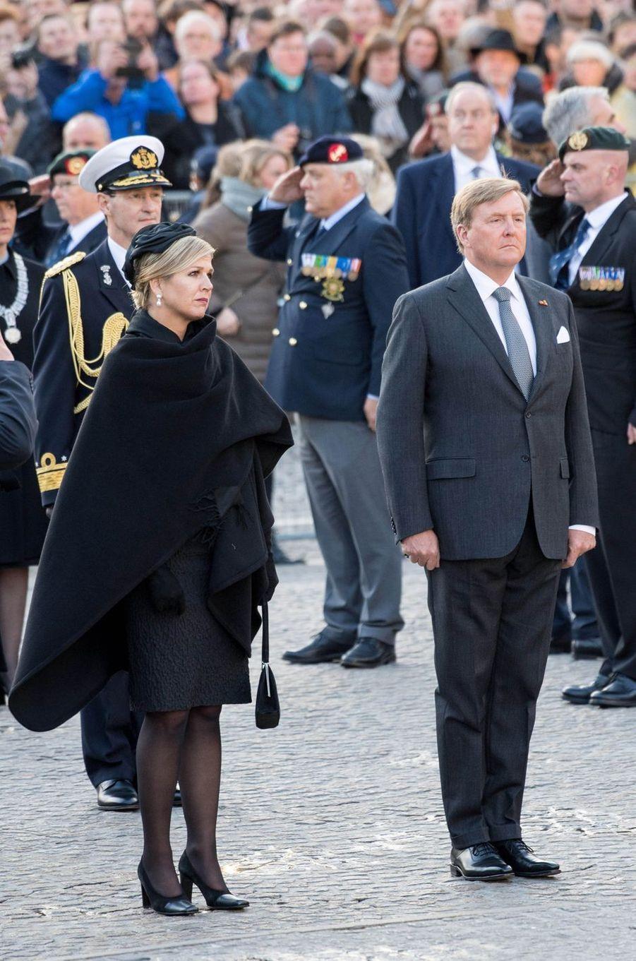 La reine Maxima et le roi Willem-Alexander des Pays-Bas à Amsterdam, le 4 mai 2019