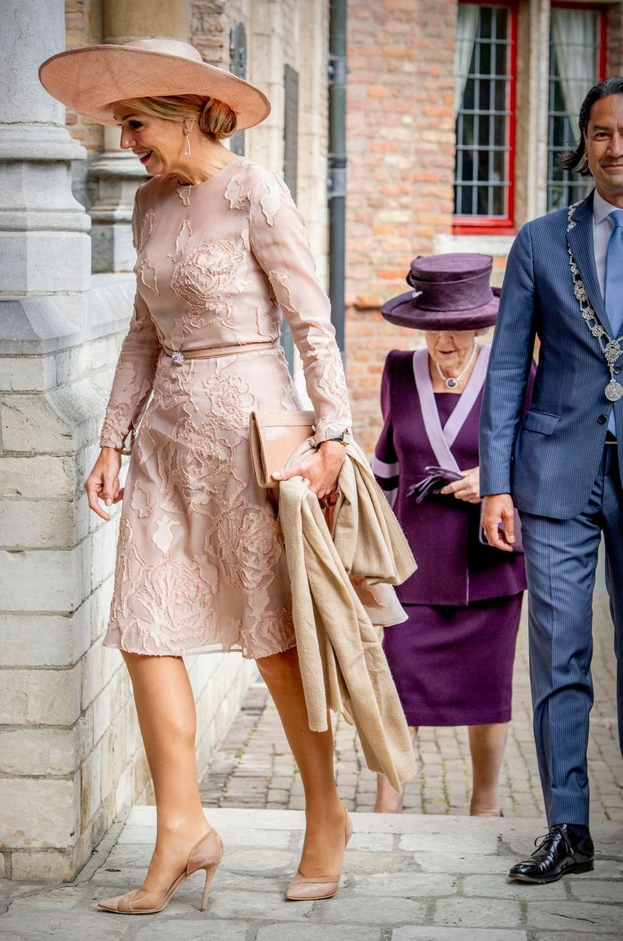 La reine Maxima et la princesse Beatrix des Pays-Bas à Middelburg, le 16 mai 2018