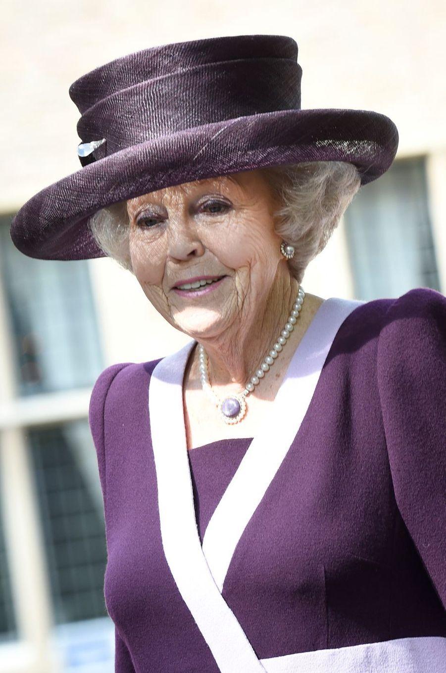 La princesse Beatrix des Pays-Bas à Middelburg, le 16 mai 2018