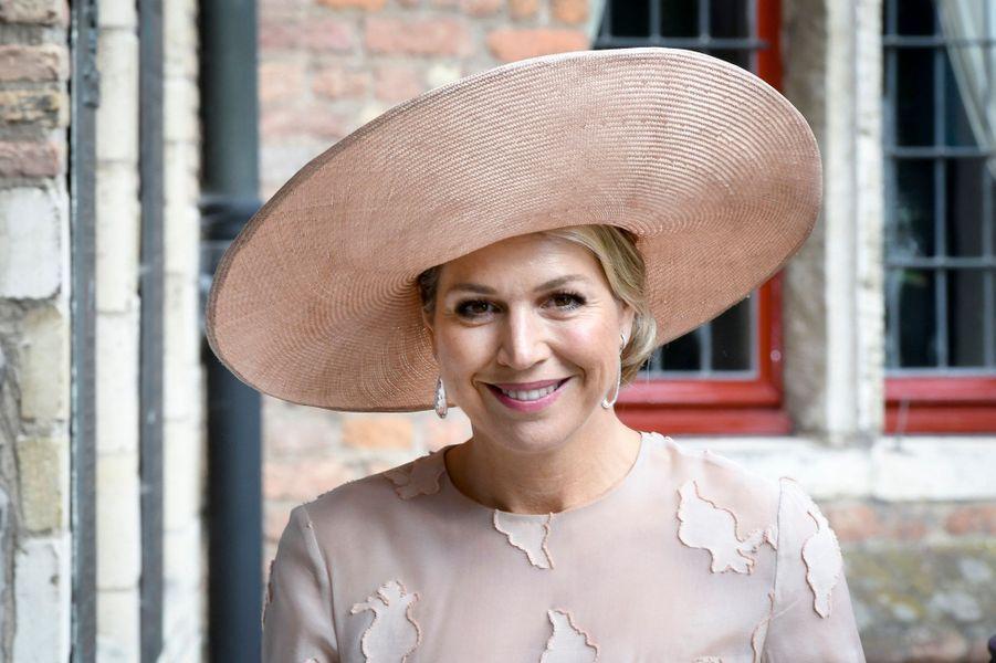 La reine Maxima des Pays-Bas à Middelburg, le 16 mai 2018