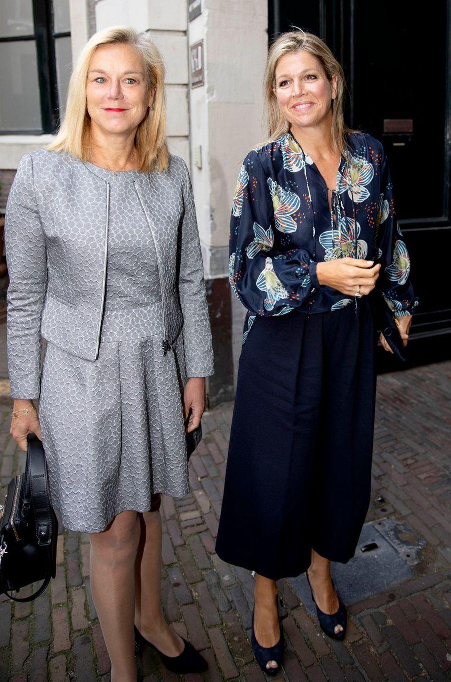 La reine Maxima des Pays-Bas à La Haye, le 10 septembre 2018