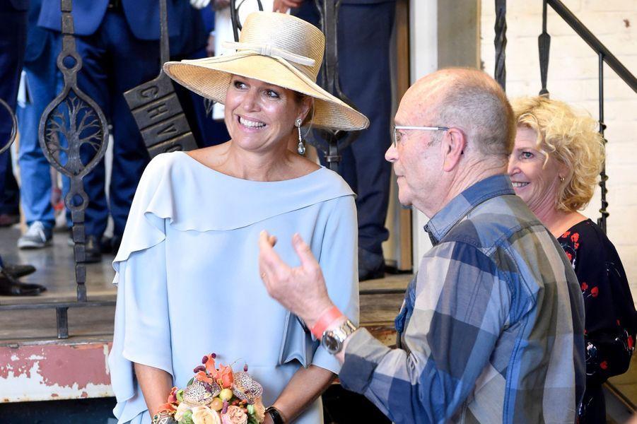 La reine Maxima des Pays-Bas, le 10 septembre 2018 à Veghel