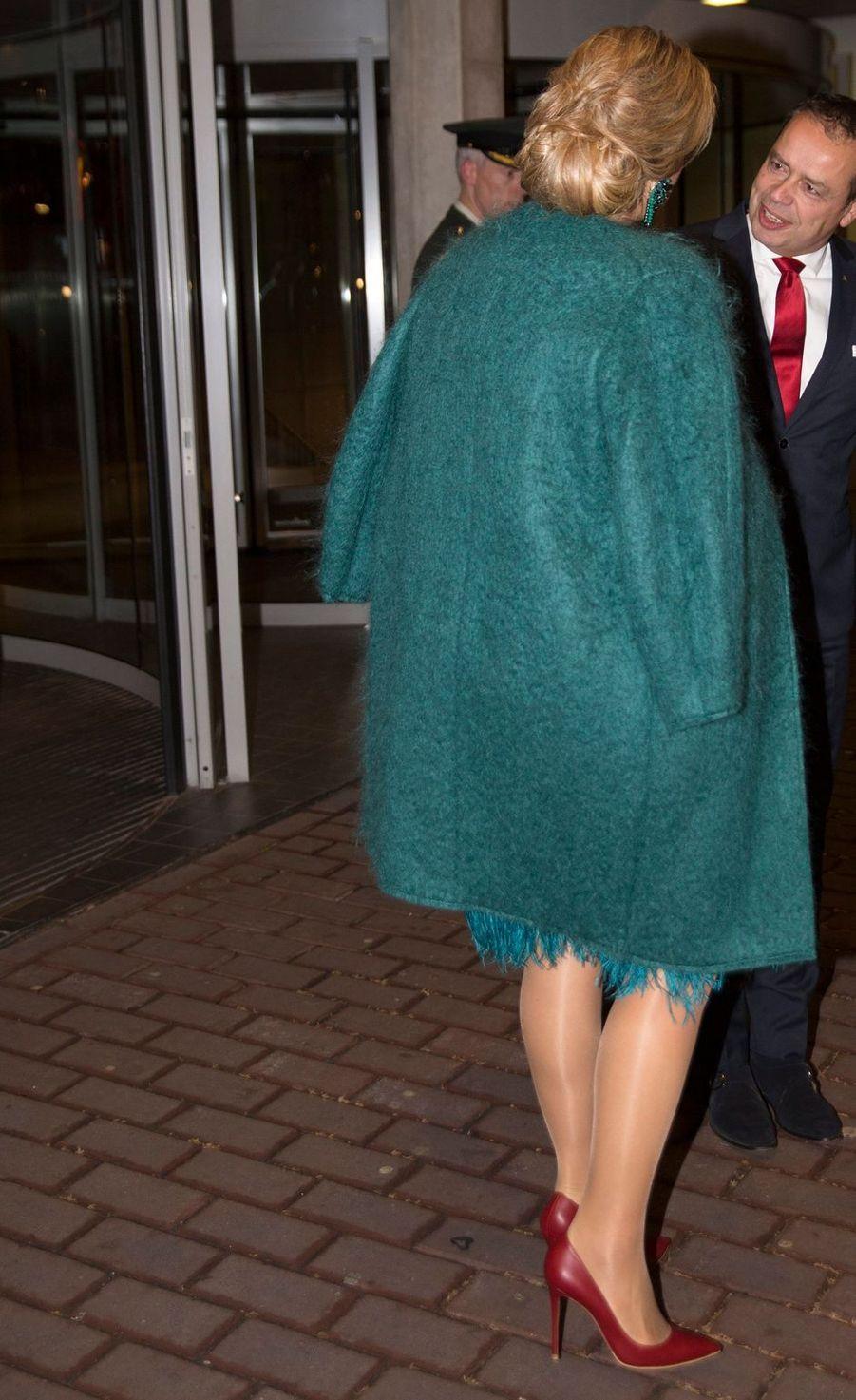 La reine Maxima des Pays-Bas à Amsterdam, le 26 novembre 2018
