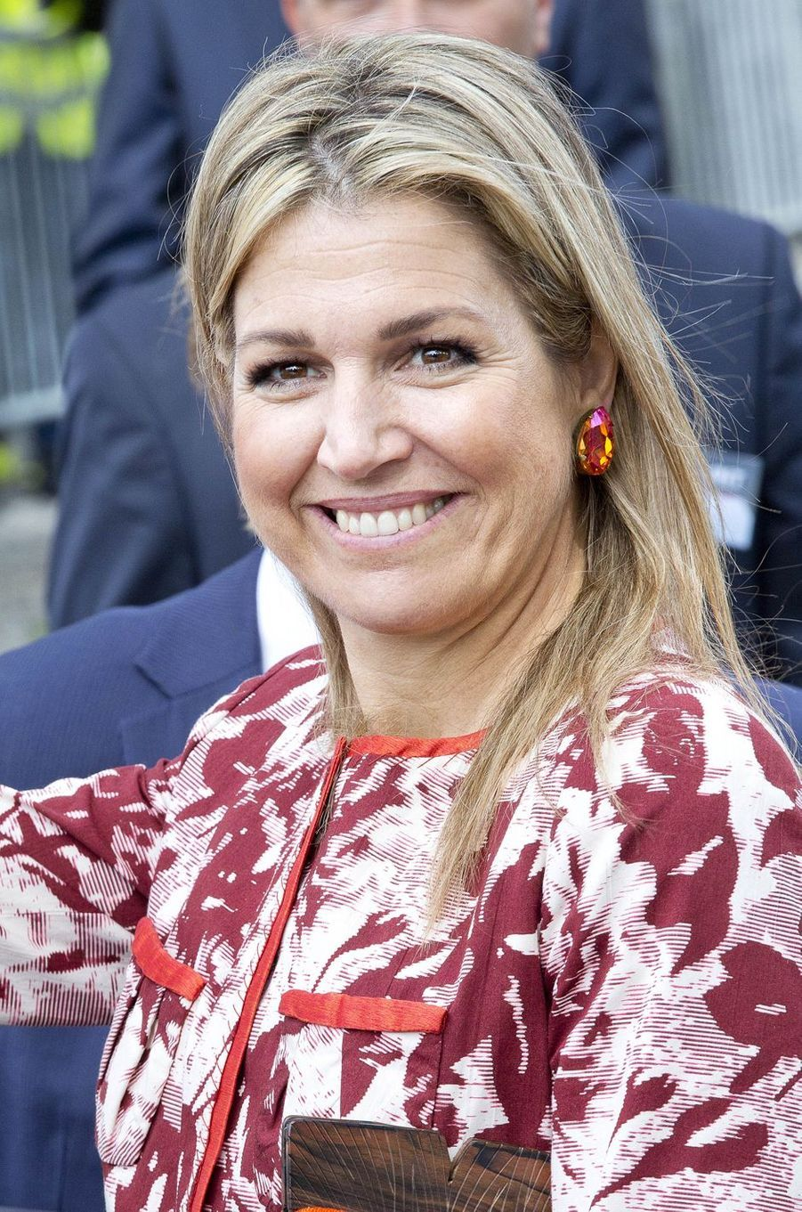 La reine Maxima des Pays-Bas à Oisterwijk le 8 juin 2017