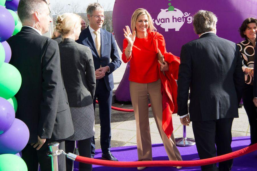La reine Maxima des Pays-Bas à Bréda, le 25 mars 2019