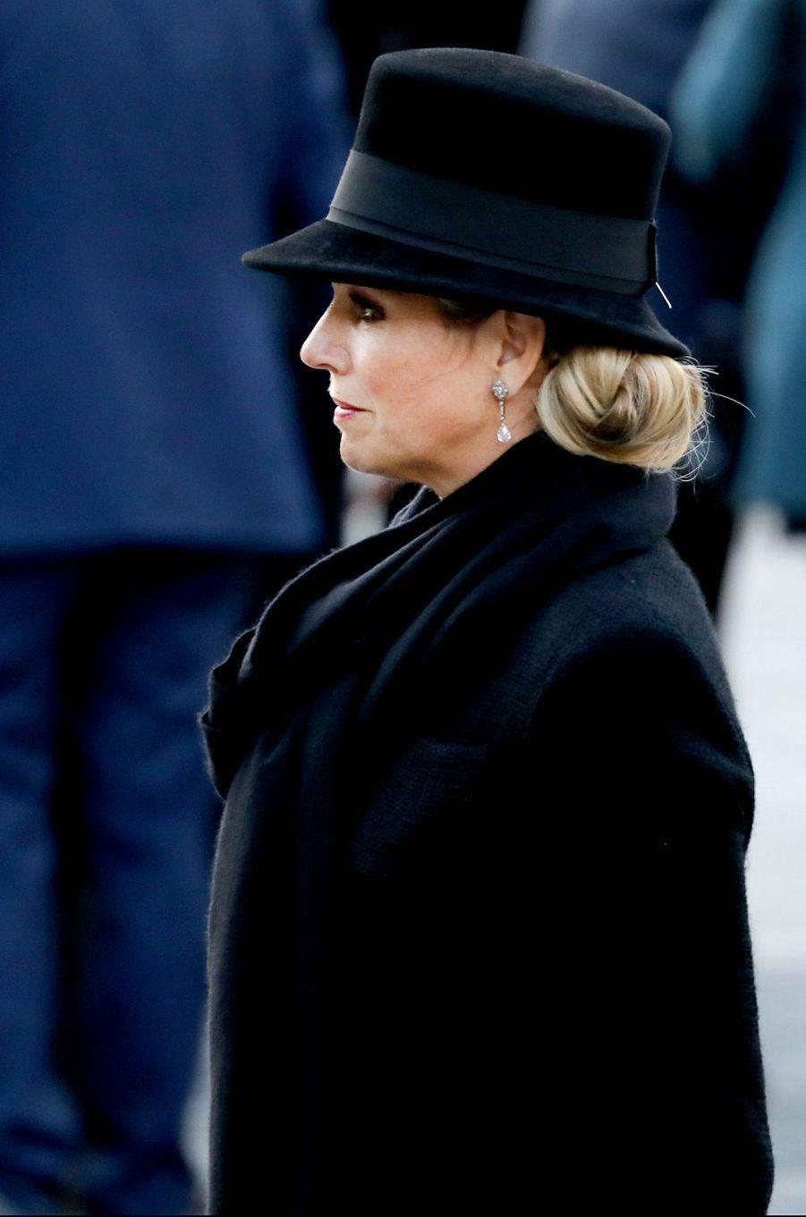 La reine Maxima des Pays-Bas à Amsterdam, le 4 mai 2018