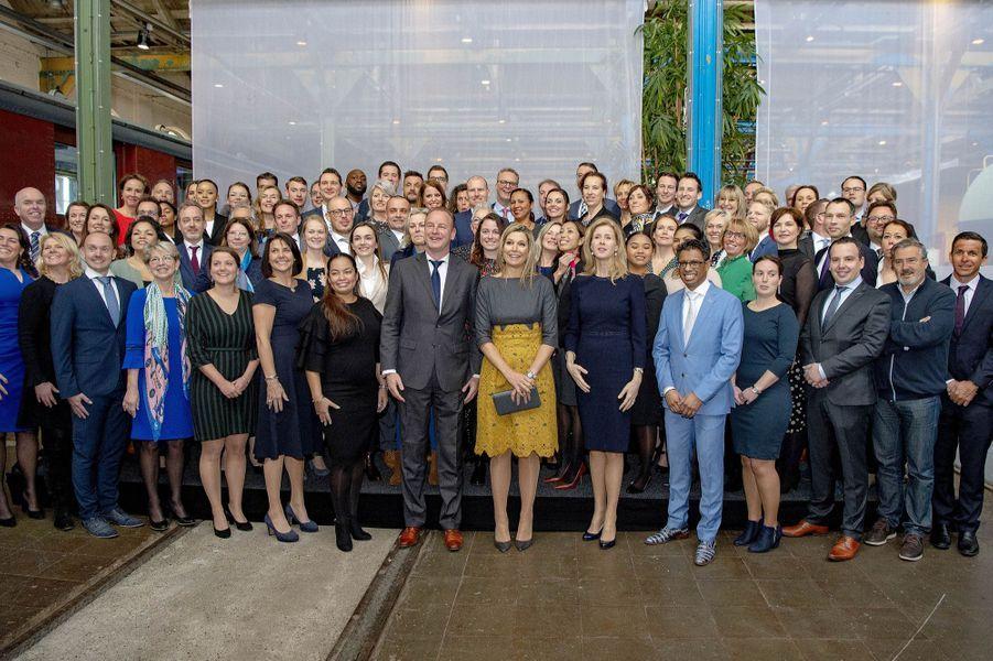 La reine Maxima des Pays-Bas, le 5 mars 2019 à Amersfoort