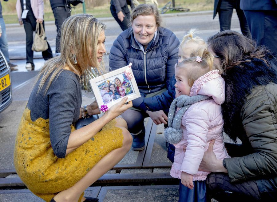 La reine Maxima des Pays-Bas à Amersfoort, le 5 mars 2019