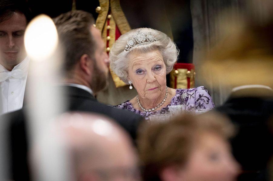 La princesse Beatrix des Pays-Bas à Amsterdam, le 21 novembre 2018