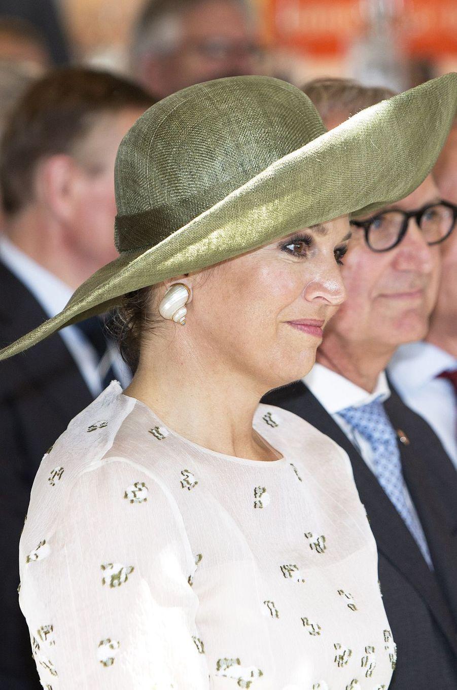 La reine Maxima des Pays-Bas à Utrecht, le 5 juin 2018