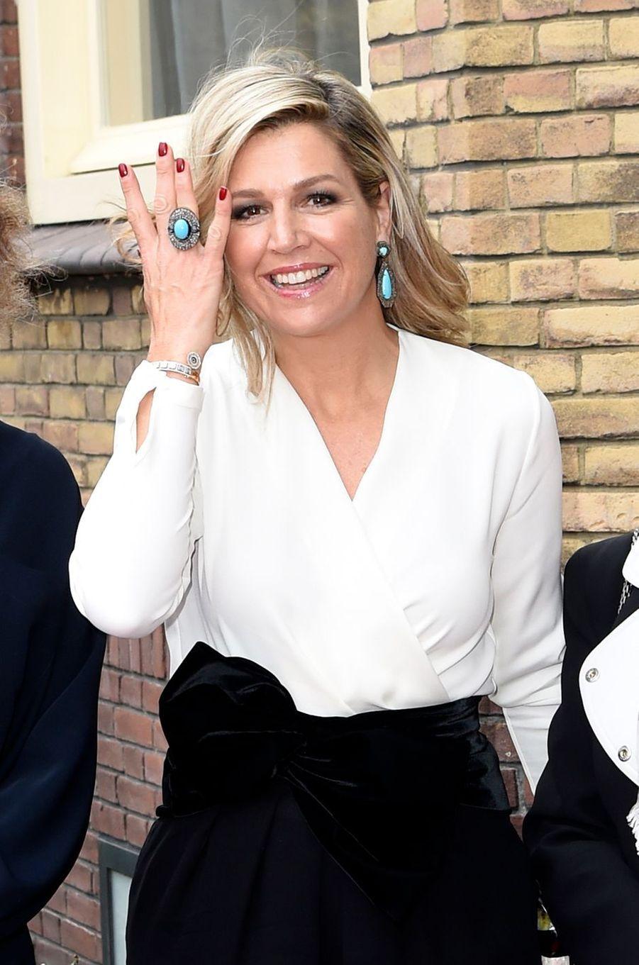 La reine Maxima des Pays-Bas à Bois-le-Duc, le 19 décembre 2018
