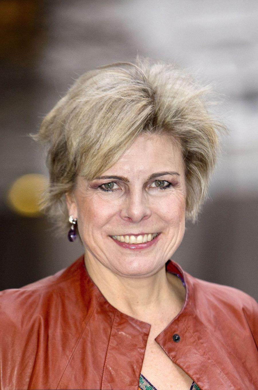 La princesse Laurentien des Pays-Bas à La Haye, le 24 janvier 2018
