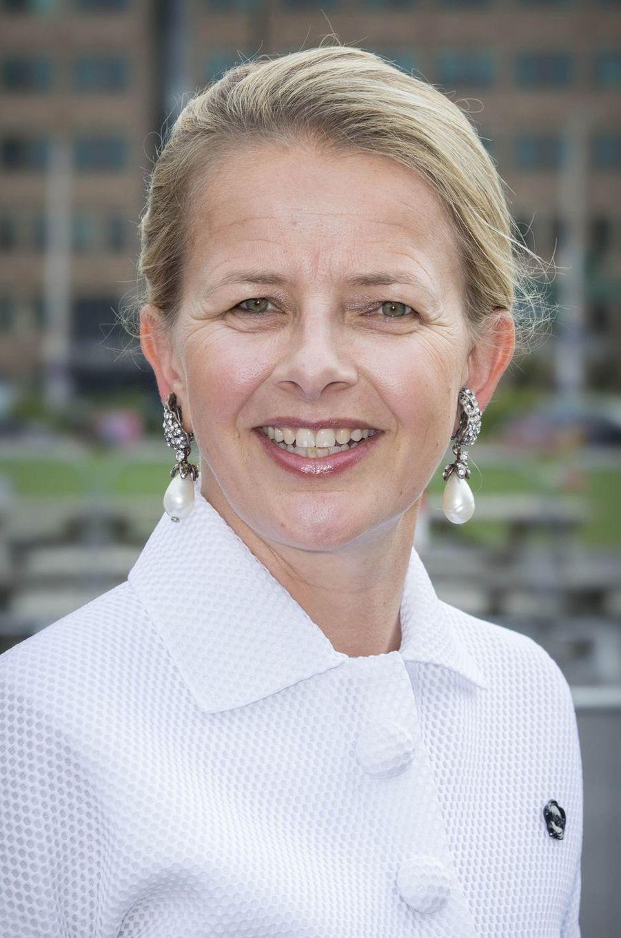 La princesse Mabel des Pays-Bas à Amsterdam, le 4 juin 2016