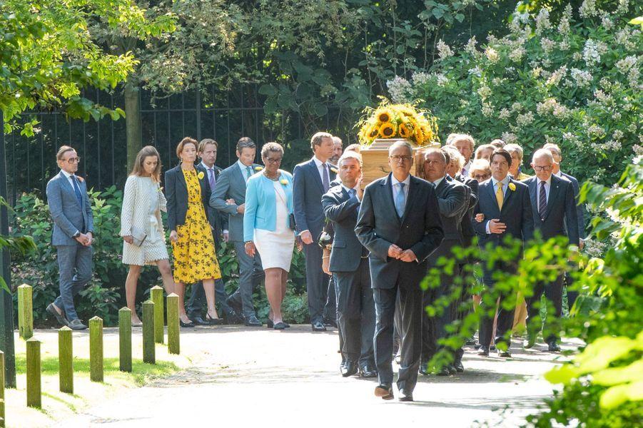 Funérailles de la princesse Christina des Pays-Bas à La Haye, le 22 juin 2019