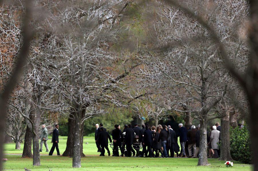 La reine Maxima des Pays-Bas, le roi Willem-Alexander et leurs filles, aux funérailles de Jorge Zorreguieta à Buenos Aires, le 10 août 2017