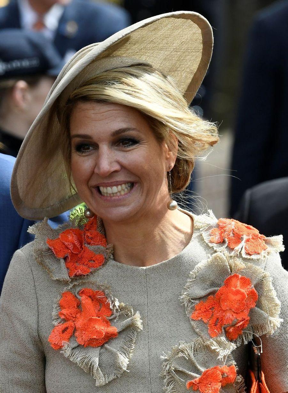 La reine Maxima des Pays-Bas à Amersfoort, le 27 avril 2019