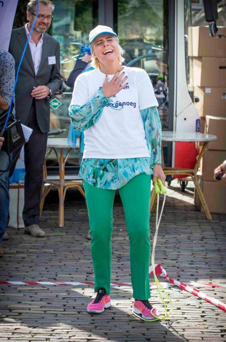 La princesse Laurentien des Pays-Bas à La Haye, le 3 septembre 2015