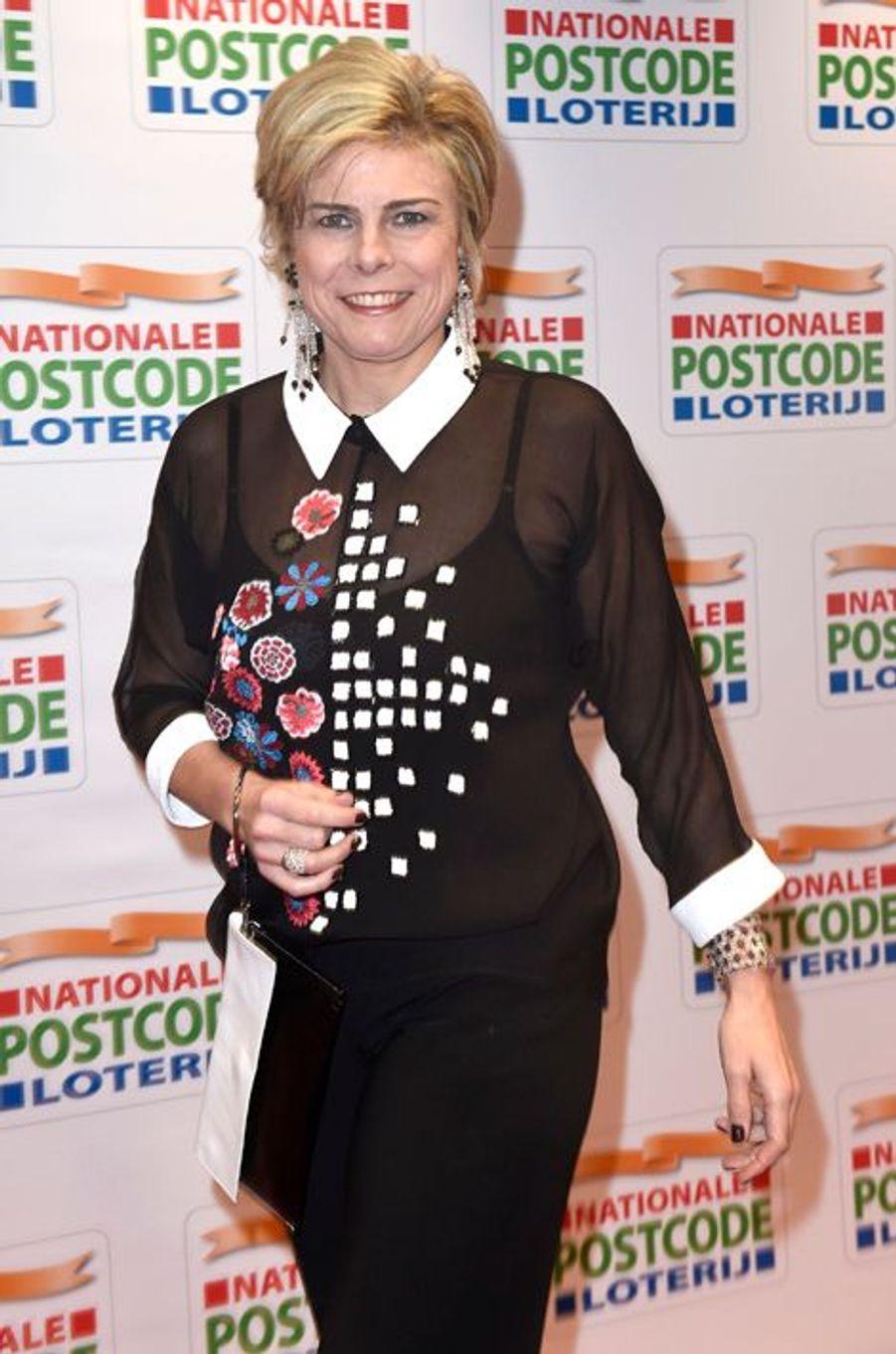 La princesse Laurentien des Pays-Bas à Amsterdam, le 26 janvier 2016