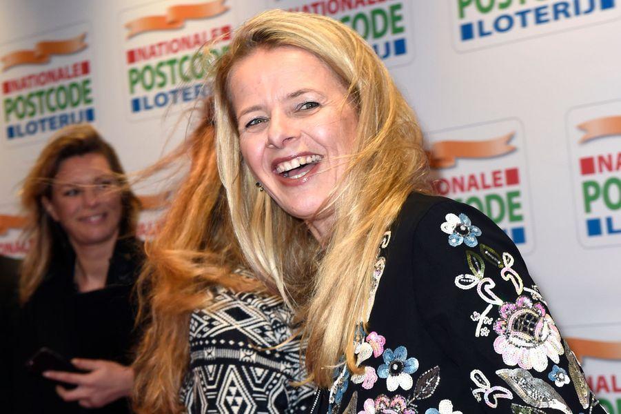 La princesse Mabel des Pays-Bas à Amsterdam, le 26 janvier 2016