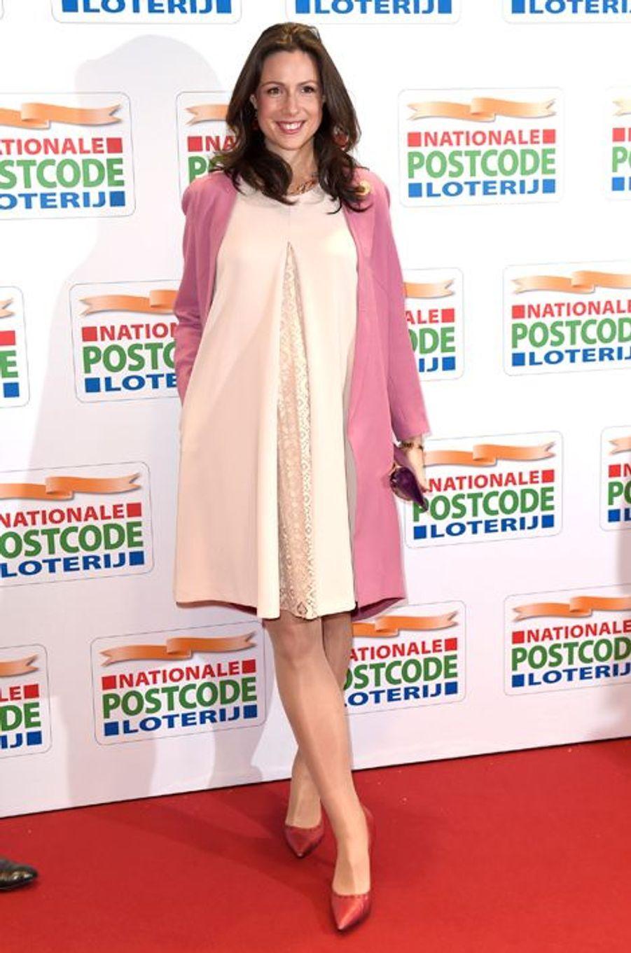 La princesse Viktoria de Bourbon de Parme à Amsterdam, le 26 janvier 2016