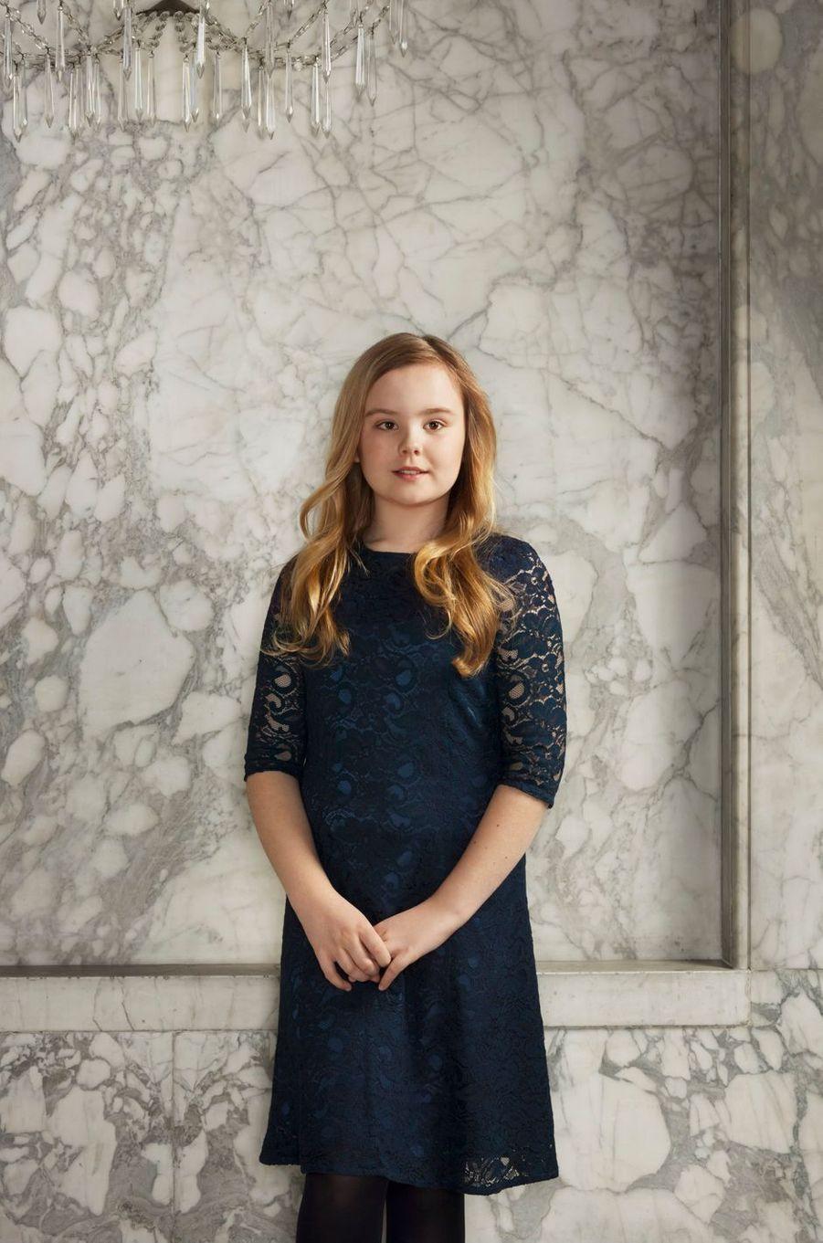 Portrait de la princesse Ariane des Pays-Bas, en mars 2018