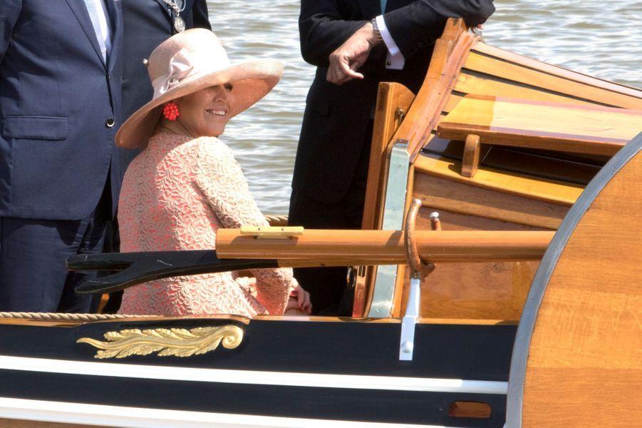 La reine Maxima des Pays-Bas à Harlingen en Frise, le 13 juin 2016