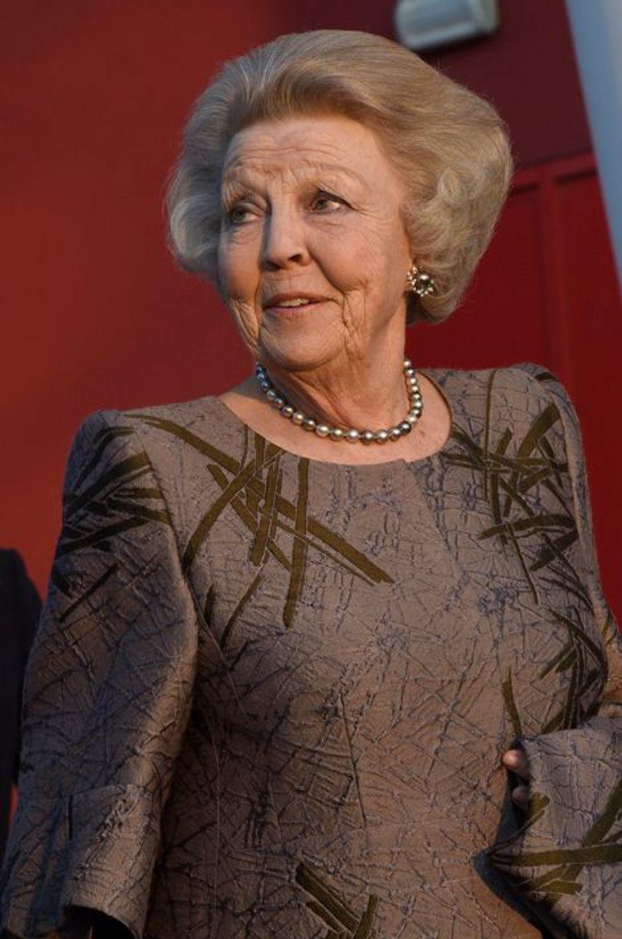 La princesse Beatrix des Pays-Bas à Delft, le 16 mars
