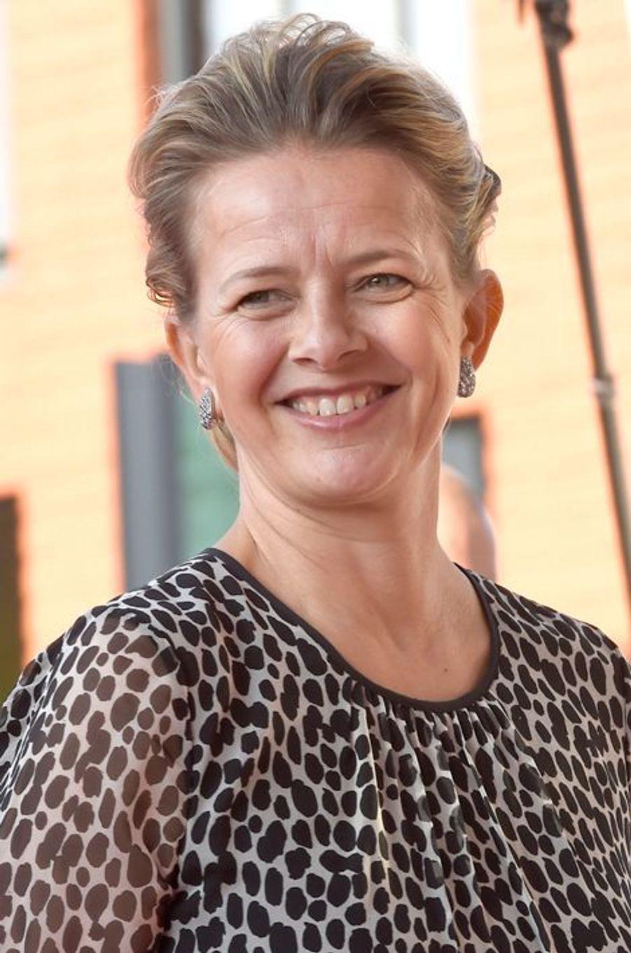 La princesse Mabel des Pays-Bas à Delft, le 16 mars