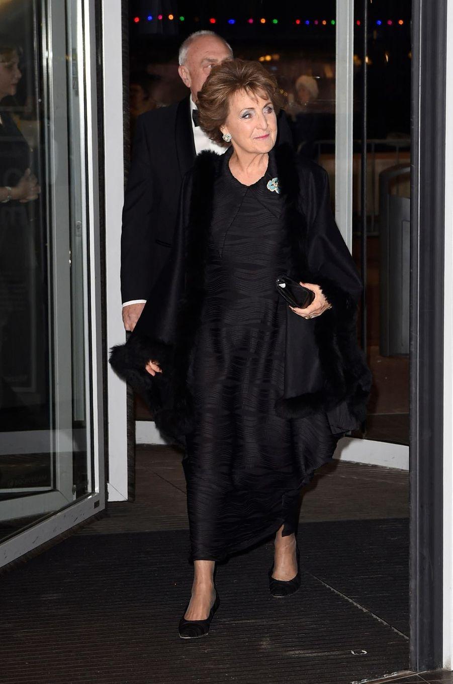 La princesse Margriet des Pays-Bas à Amsterdam, le 29 novembre 2016